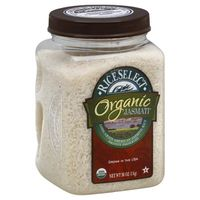 RiceSelect Organic Jasmati White Rice