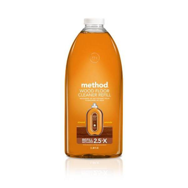 Method Cleaning Products Wood Floor Cleaner Refill Almond 68 fl oz
