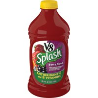 V8 Splash Berry Blend, 64 oz. bottle