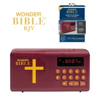 Wonder Bible KJV Old and New Testament Audio Book - As Seen on TV