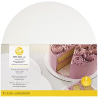 Wilton 12-Inch Round Cake Boards, 7-Count