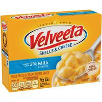 Kraft Velveeta Shells & Cheese Made with 2% Milk Cheese