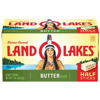Land O Lakes® Sweet Cream Salted Butter, Half Sticks