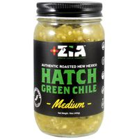 Zia Green Chile Company Roasted Peeled & Diced New Mexico Hatch Chile