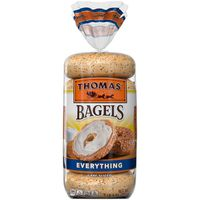 Thomas Everything Soft & Chewy Pre-Sliced Bagels