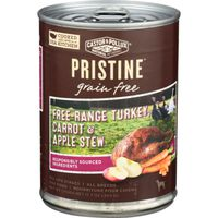 Castor & Pollux Pristine Grain Free Free-range Turkey, Carrot & Apple Stew All Life Stages Dog Food