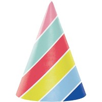 24ct Over The Rainbow Party Hats