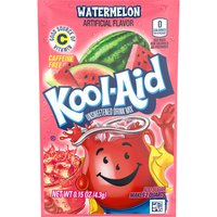 Kool-Aid Unsweetened Watermelon Powdered Soft Drink