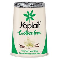 Yoplait Yogurt, Low Fat, Lactose Free, French Vanilla