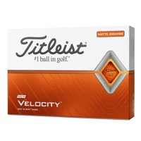 Titleist Velocity Matte Orange Balls