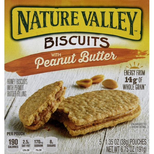 Nature Valley Biscuits, with Peanut Butter