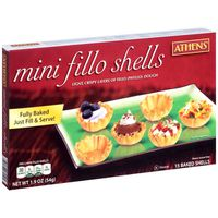 Athens Phyllo Shells, Baked