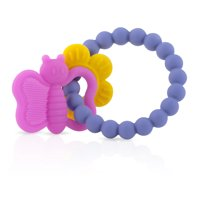 Nuby Chewy Charms Silicone Butterfly Teether
