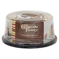 Cheesecake Factory 6' Chocolate Mousse Cake - 24oz