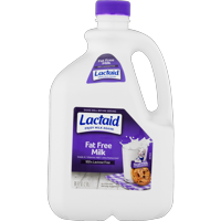 Lactaid 100% Lactose Free Fat Free Milk, 2.8 L