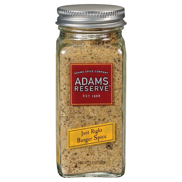 Adams Reserve Just Right Burger Spice