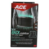 3M ACE Deluxe Back Stabilizer with Lumbar Support