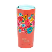 The Pioneer Woman Breezy Blossoms 20-Ounce Double Wall Vacuum Insulated Stainless Steel Tumbler