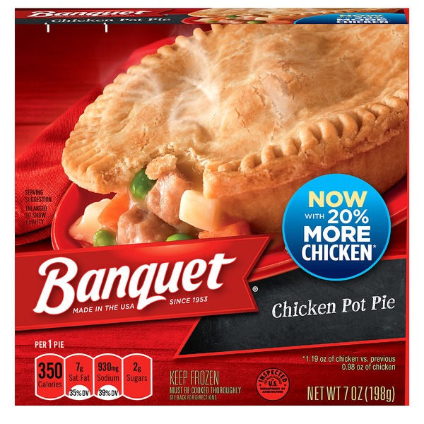 Banquet Chicken Pot Pie From Albertsons In Fort Worth Tx Burpy Com
