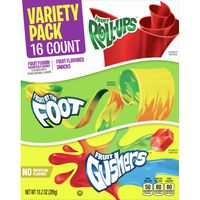 General Mills Fruit Roll-Ups, Fruit by the Foot, Gushers