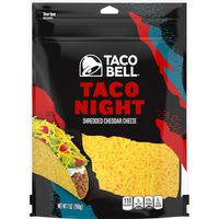 Taco Bell Natural Shredded Cheese Taco Night