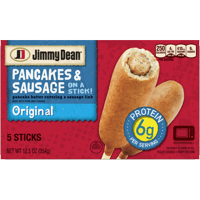 Jimmy Dean® Pancakes and Sausage on a Stick, Original, 5 Count (Frozen)