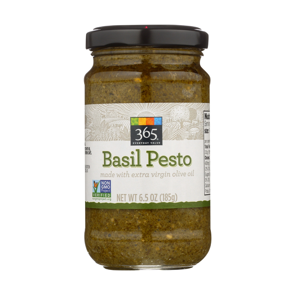 365 everyday value® Pesto Basil, Traditional, 6.5 Oz.