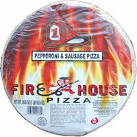 Firehouse Sausage & Pepperoni Pizza
