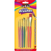 Cra-Z-Art Artist Brushes, 7ct