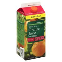 Signature Kitchens Orange Juice, 100% Pure, from Concentrate