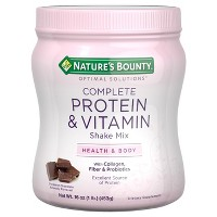 Optimal Solutions Vitamin & Protein Shake Mix - Decadent Chocolate - 16oz