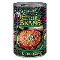Amy's Vegetarian Organic Traditional Refried Beans 15.4 oz