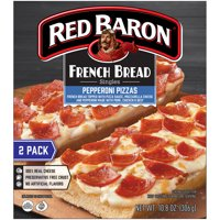 RED BARON Pizza, French Bread Singles Pepperoni, 2 count, 10.80 oz