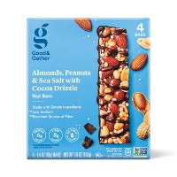 Almond, Peanuts & Sea Salt Nut Bars - 4ct - Good & Gather™