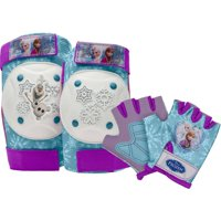 Bell Disney Frozen Protective Pad and Glove Set, Purple/Aqua