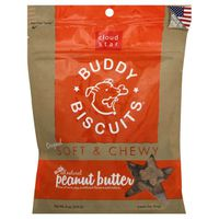 Buddy Biscuits Soft & Chewy Treats Peanut Butter