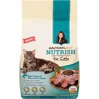 Nutrish Real Salmon & Brown Rice Recipe Cat Food