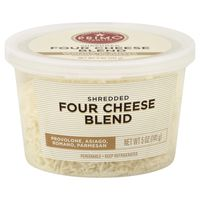 Signature Kitchens Cheese, Shredded, Four Cheese Blend