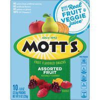 Mott's Assorted Fruit  Flavored Snacks