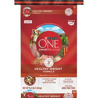 Purina ONE Weight Management, Natural Dry Dog Food, SmartBlend Healthy Weight Formula