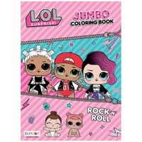 L.O.L. Surprise! Jumbo Rock 'N' Roll Coloring and Activity Book
