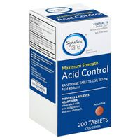 Signature Acid Control, Maximum Strength, 150 mg, Tablets