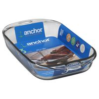 Anchor 9 x 13 Bake With Silicone Handles 3 Qt