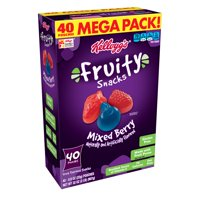 Kellogg's Mixed Berry Fruity Snacks Pouches 32 oz 40 ct