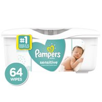 Pampers Baby Wipes Sensitive, 64 Count