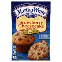 Martha White Muffin Mix Strawberry Cheesecake, Pouch