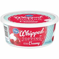 Kroger Extra Creamy Whipped Topping