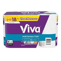 Viva Choose-a-Sheet Multi-Surface Cloth Paper Towels - Huge Rolls