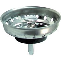 Peerless Deluxe Stainless Sink Strainer with Post