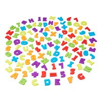 Spark. Create. Imagine. Magnetic Letters & Numbers, 120 Pieces